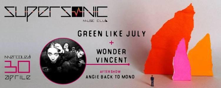 Green Like July +  Wonder Vincent